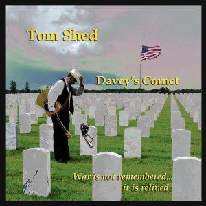 Davey's Cornet - Album Cover - Tom Shed